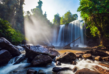 Waterfall: Phnom Kulen