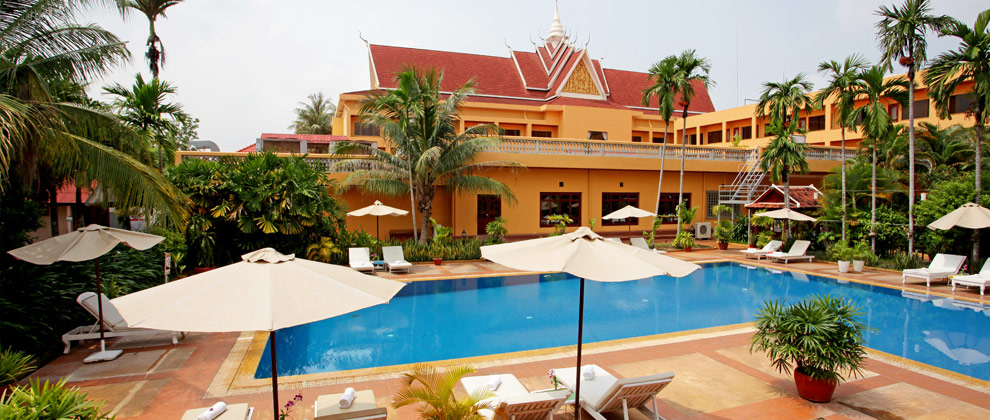 Swimming Pool of Angkor Hotel