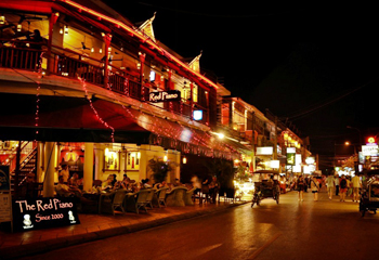 Night Life: Siem Reap Pub Street